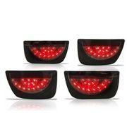 Lanterna-Camaro-c--Led-2011-a-2012-Sport-Black-Traseira---Jogo-Completo