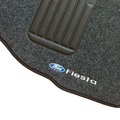 Jogo-de-Tapete-Carpete-Fiesta-2002-a-2007-Hatch-e-Sedan-Preto---5-Pecas--Personalizado-