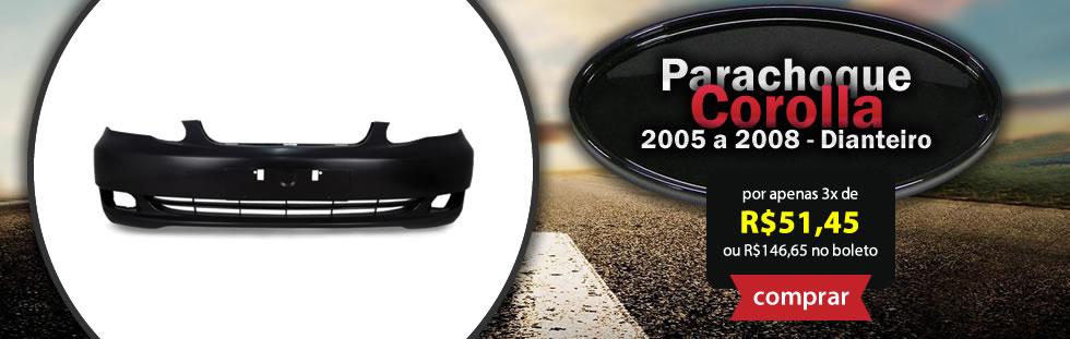 Banner - Parachoque Corolla Dianteiro
